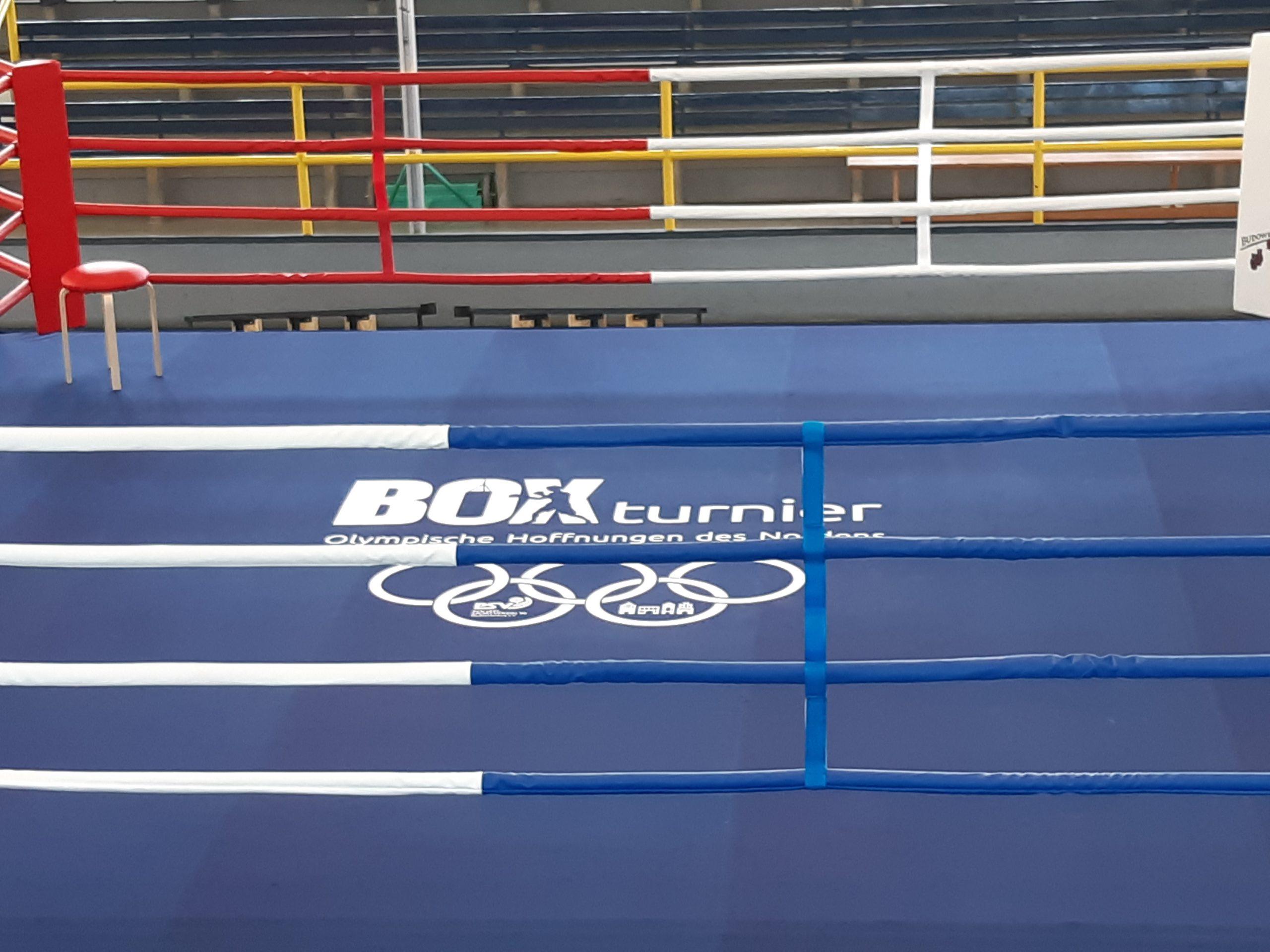 Boxringplanen Aufdruck